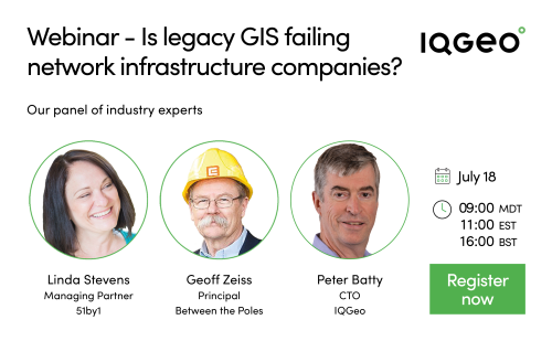 IQGeo_is_legacy_GIS_failing_network_infrastructure_companies_webinar_social_promo
