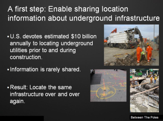 Locating underground infrastructure