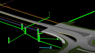Cedar Falls highway revitalization 3D model