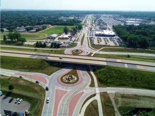 Cedar Falls highway revitalization
